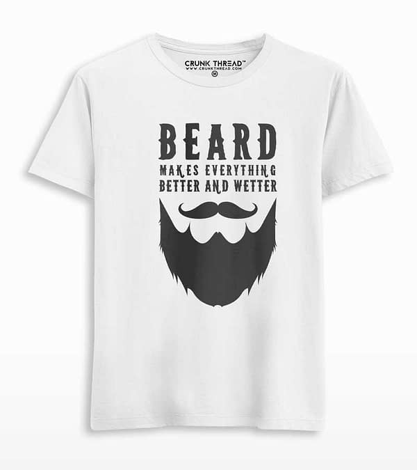 Beard makes everything better and wetter