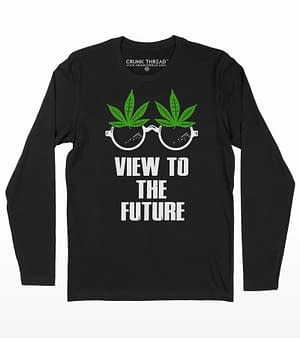 View to the future full sleeve T-shirt
