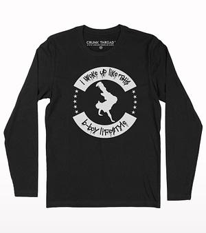 Bboy lifestyle full sleeve T-shirt