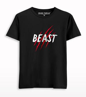 Beast Printed T-shirt