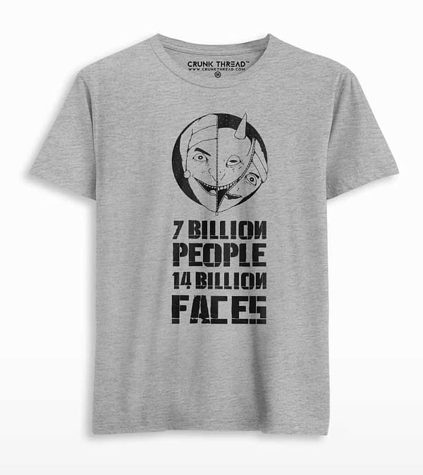 seven billion people forteen billion faces