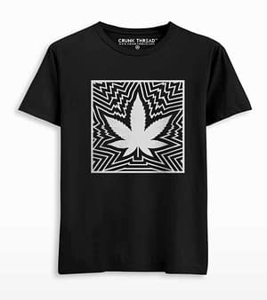 Psychedelic Printed T-shirt