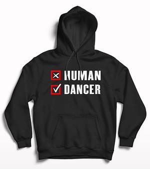 Human Dancer printed hoodie