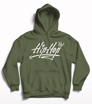 Hip Hop Printed Hoodie