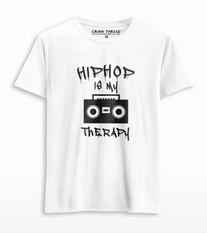 hiphop is my therapy tshirt