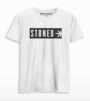 Stoned t shirt
