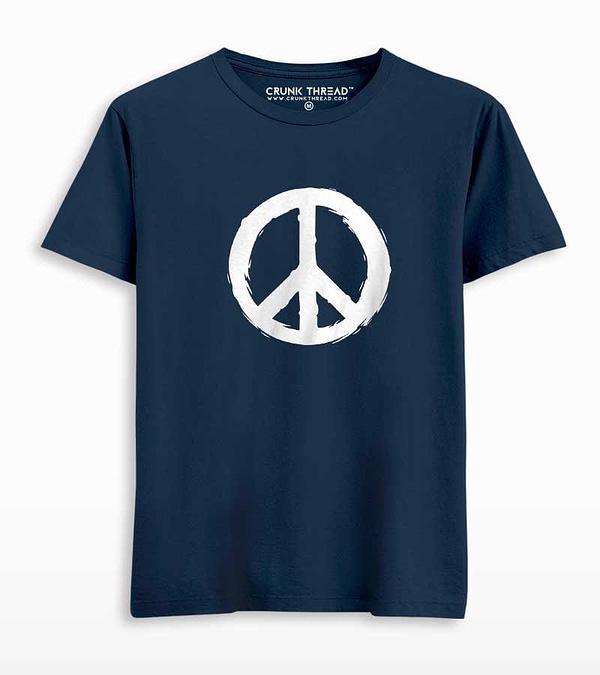 Peace Printed T-shirt