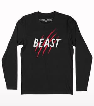 Beast full sleeve T-shirt