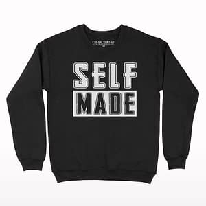 Self Made Print Sweatshirt