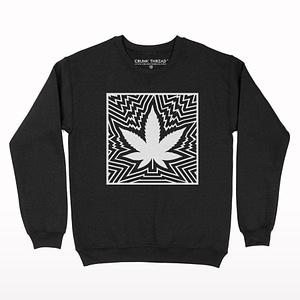 Psychedelic Print Sweatshirt