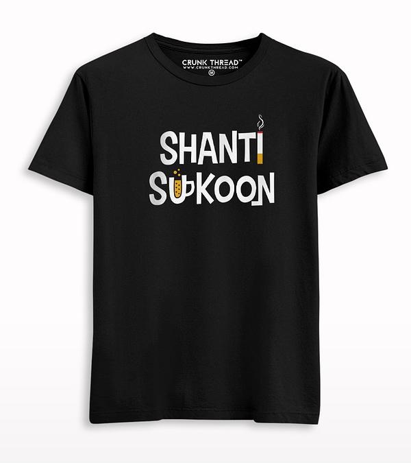 Shanti Sukoon Printed T-shirt