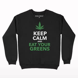 Keep Calm and Eat Your Greens Sweatshirt