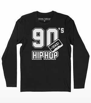 90s hip hop full sleeve T-shirt