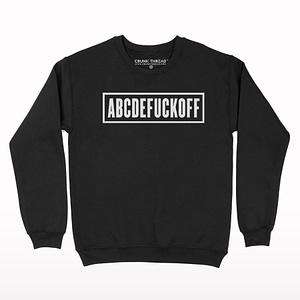 Abcdefuckoff Crew Neck Sweatshirt