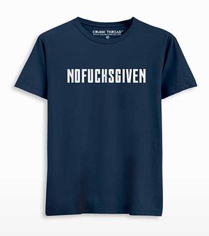 NOFUCKSGIVEN Printed T-shirt