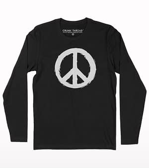 Peace full sleeve T-shirt