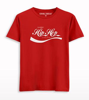 Classic Hip-Hop Printed T-shirt