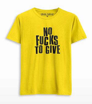 No fucks to give
