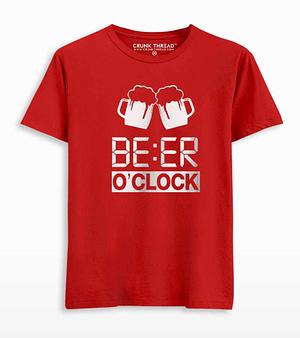 beer o clock t shirt