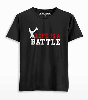 bboy life is a battle T-shirt