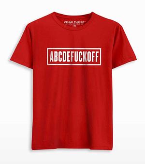 Abcdefuckoff T-shirt