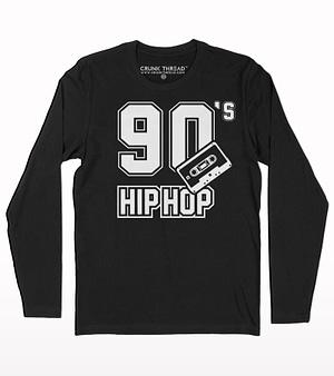 90s hip hop full sleeve T-shirt