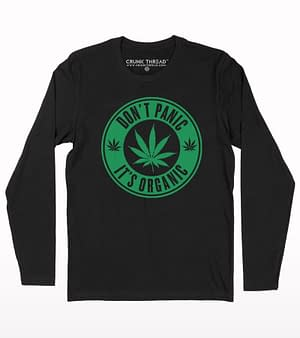 Dont panic its organic full sleeve T-shirt
