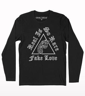 Fake love full sleeb t-shirt
