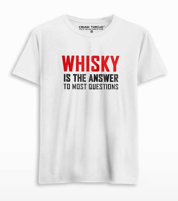 whisky is the answer